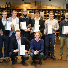 Pirmoji WSET Level 3 Awars in Wines and Spirits grupė, Vilnius